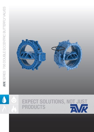 Series 766 Eccentric Butterfly Valves