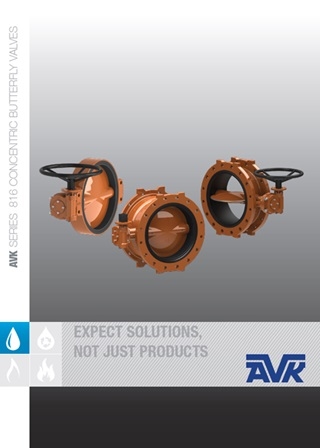 Series 816 Concentric Butterfy Valves