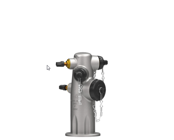 Series 2442 and 2452:  Stainless Steel Wet Barrel
