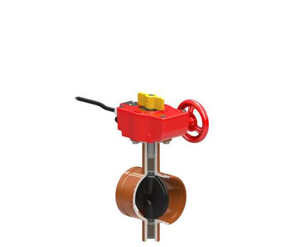 Series 815 Grooved End Butterfly Valves