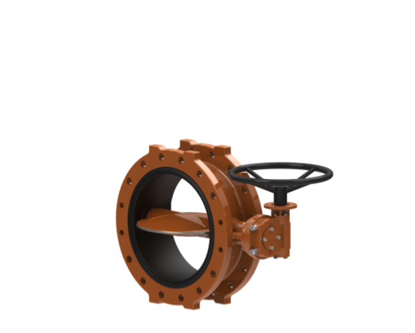 SERIES 816 CONCENTRIC DESIGN BUTTERFLY VALVE WITH RUBBER SEAT IN BODY
